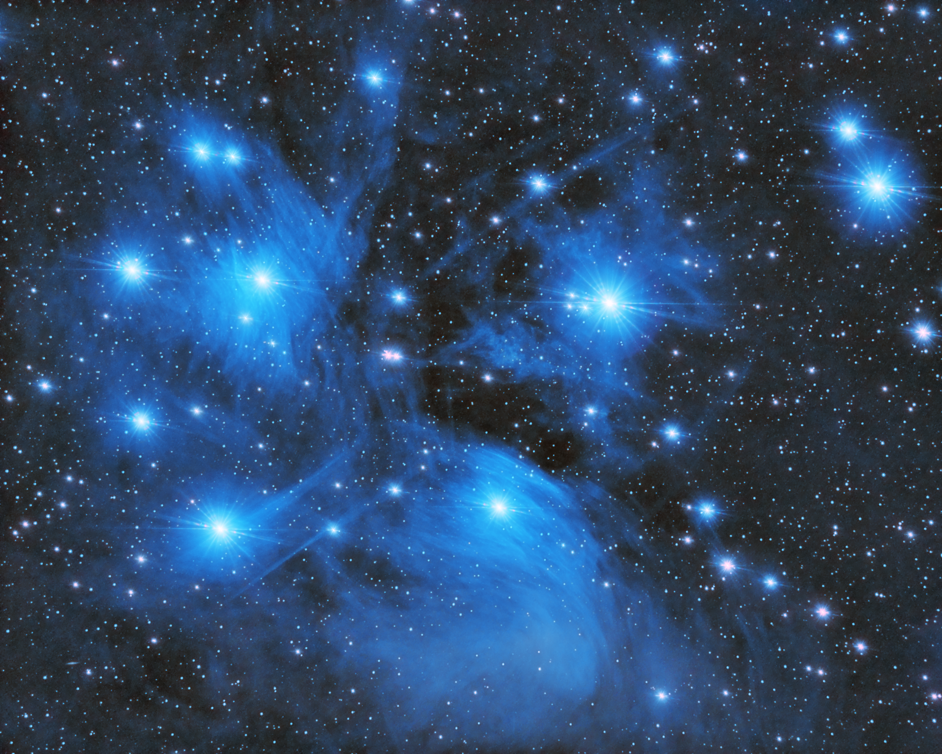 pleiades star cluster hubble - photo #1